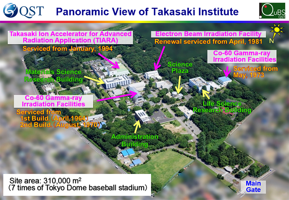 Panoramic View of Takasaki Institute