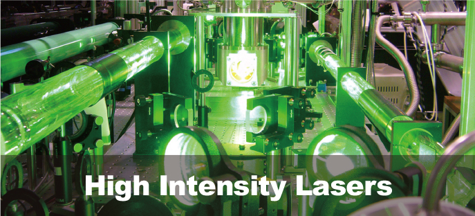 High Intensity Lasers banner