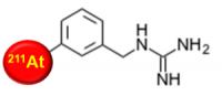 211At-Mabg(アスタチン211-メタアスタトベンジルグアニジン)