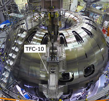 photo of TFC-10 installed to the appropriate position