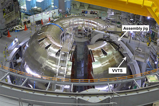 photo of VVTSs under assembly